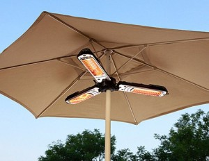 AZ Patio Heaters HLI-1P Parasol Patio Heater