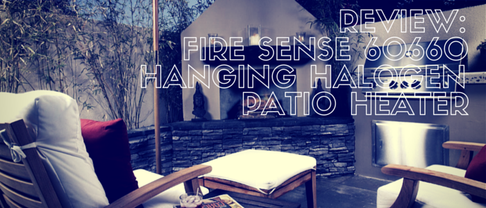 Fire Sense 60660 Hanging Halogen Patio Heater Review